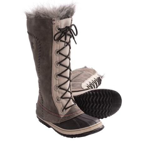 Sorel Cate the Great Deco Pac Boots - Waterproof, Insulated (For Women) in Twill