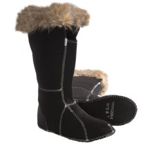 Sorel Cate the Great Innerboot 2 Liners (For Women) in Black/Tusk - Closeouts