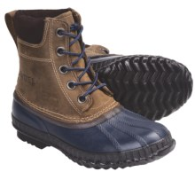 Sorel Cheyanne Lace Winter Boots - Insulated, Leather (For Youth) in Curry - Closeouts