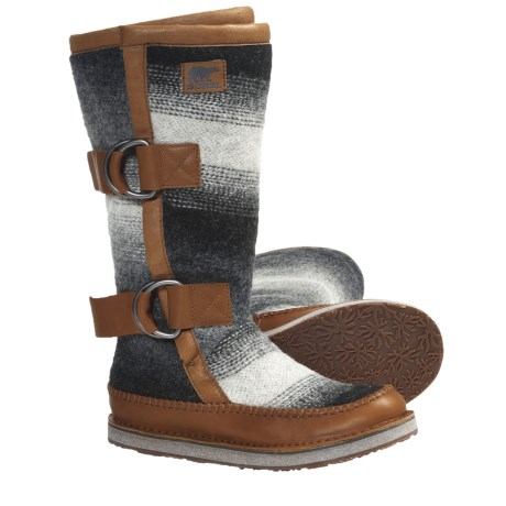 Sorel Chipahko Blanket Boots (For Women) in Hawk