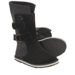 Sorel Chipahko Felt Boots (For Youth) in Black