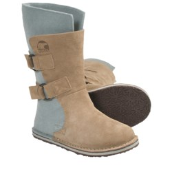 Sorel Chipahko Felt Boots (For Youth) in British Tan