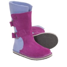 Sorel Chipahko Felt Boots (For Youth) in Raspberry - Closeouts