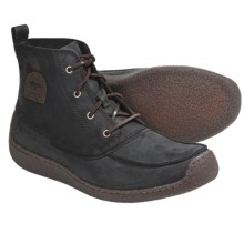 Sorel Chugalug Chukka Boots - Nubuck (For Men) in Black - Closeouts