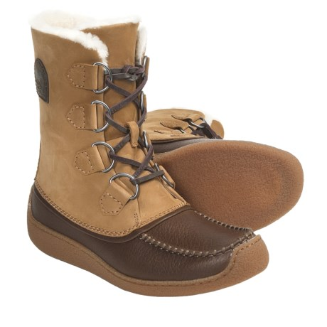Sorel Chugalug Shearling-Lined Boots (For Men) in Buff