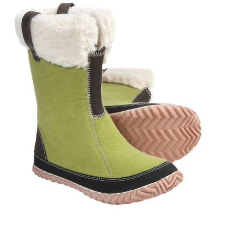 Sorel Cozy Bou Boots - Recycled Felt (For Women) in Peppercorn