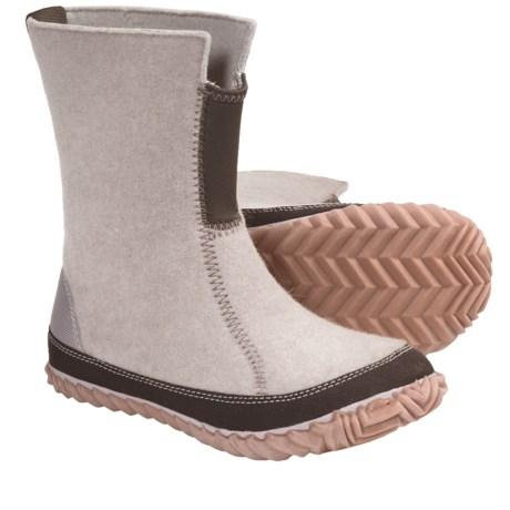 Sorel Cozy Felt Boots (For Women) in Dolomite