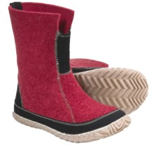 Sorel Cozy Pac Felt Boots (For Women) in Ruby - Closeouts