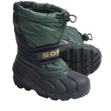 Sorel Cub Pac Boots - Insulated (For Kids) in Total Eclipse/Galapagos - Closeouts