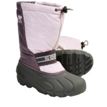 Sorel Cub Pac Boots - Insulated (For Youth) in Isla/Crushed Berry - Closeouts