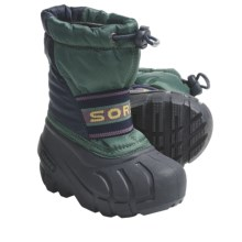 Sorel Cub Pac Boots - Waterproof, Recycled Liner (For Toddlers) in Total Eclipse/Galapagos - Closeouts