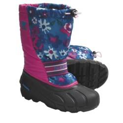 Sorel Cub Winter Pac Boots (For Youth) in Bright Rose/Black