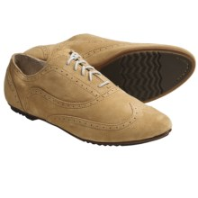 Sorel Derby Oxford Shoes - Leather (For Women) in Suede Taffy - Closeouts