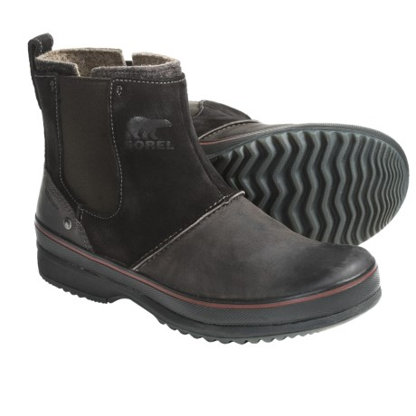 Sorel Ellesmere Boots - Waterproof (For Men) in After Dark