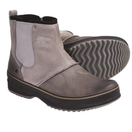 Sorel Ellesmere Boots - Waterproof (For Men) in Tusk