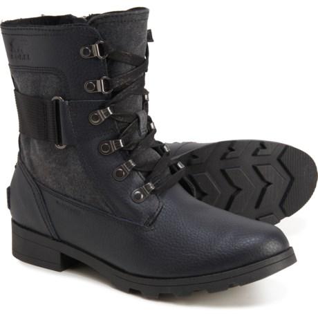Sorel Emelie Conquest Waterproof Girls Boots