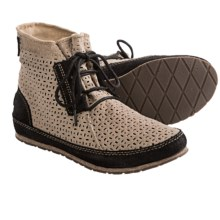 Sorel Ensenada Canvas Boots (For Women) in Black - Closeouts