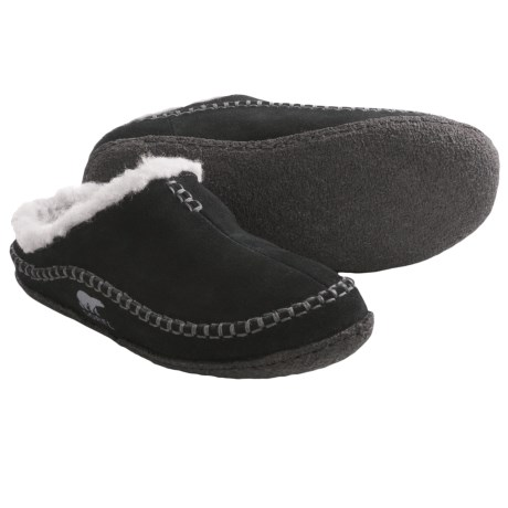Sorel Falcon Ridge Shoes - Insulated Slip-Ons (For Youth) in Black/Light Grey