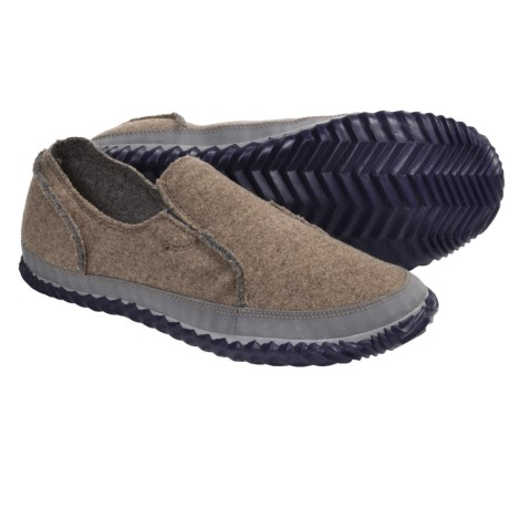 Sorel Felt Moc Slipper Shoes - Slip-Ons (For Men) in Brownstone