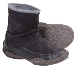 Sorel Fernie Boots - Suede (For Women) in Curry/Wild Dove