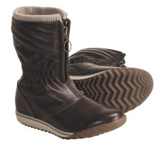Sorel Firenzy Breve Boots- Leather (For Women) in Espresso/Penny - Closeouts