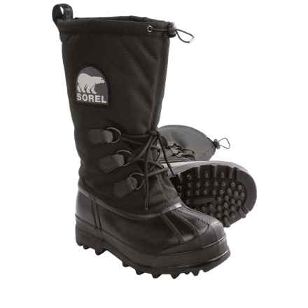 Sorel Glacier Pac Boots - Waterproof, Insulated (For Women) in Black - Closeouts