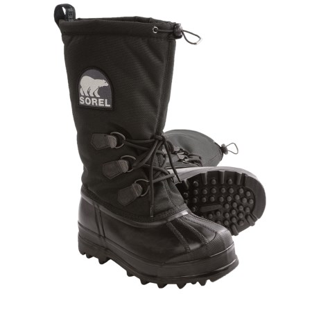 Sorel Glacier Pac Boots - Waterproof, Insulated (For Women) in Black