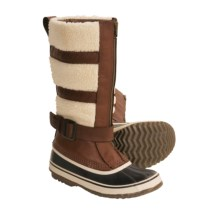 Sorel Helen of Tundra Pac Boots - Insulated, Leather-Wool (For Women) in Tobacco - Closeouts