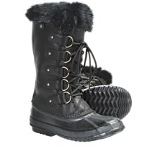 Sorel Joan of Arctic Premium Winter Boots - Waterproof, Leather (For Women) in Black - Closeouts