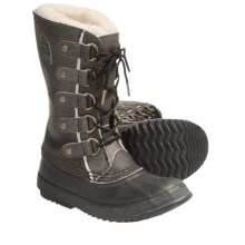 Sorel Joan of Arctic Reserve NM Winter Pac Boots - Waterproof, Insulated (For Women) in Black - Closeouts