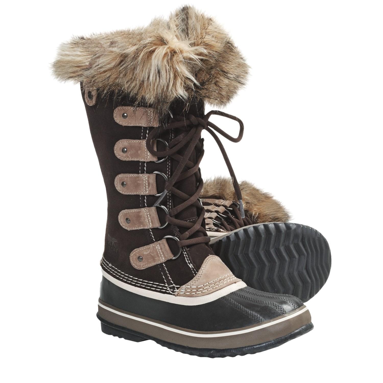 sorel joan of arctic winter boots waterproof for