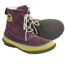 Sorel Joplin Boots - Suede (For Women) in Elderberry - Closeouts