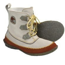 Sorel Joplin Boots - Suede (For Women) in Silver Sage - Closeouts
