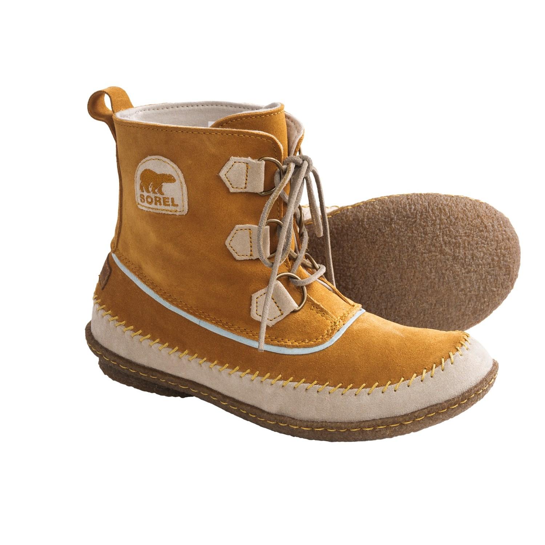 Sorel Joplin II Boots - Suede (For Women) in Caramel
