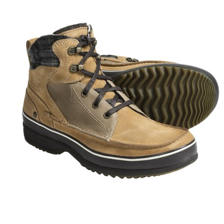 Sorel Kingston Chukka Boots - Waterproof, Leather (For Men) in Curry