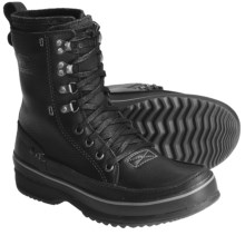 Sorel Kingston Peak Boots - Waterproof, Leather (For Men) in Black - Closeouts