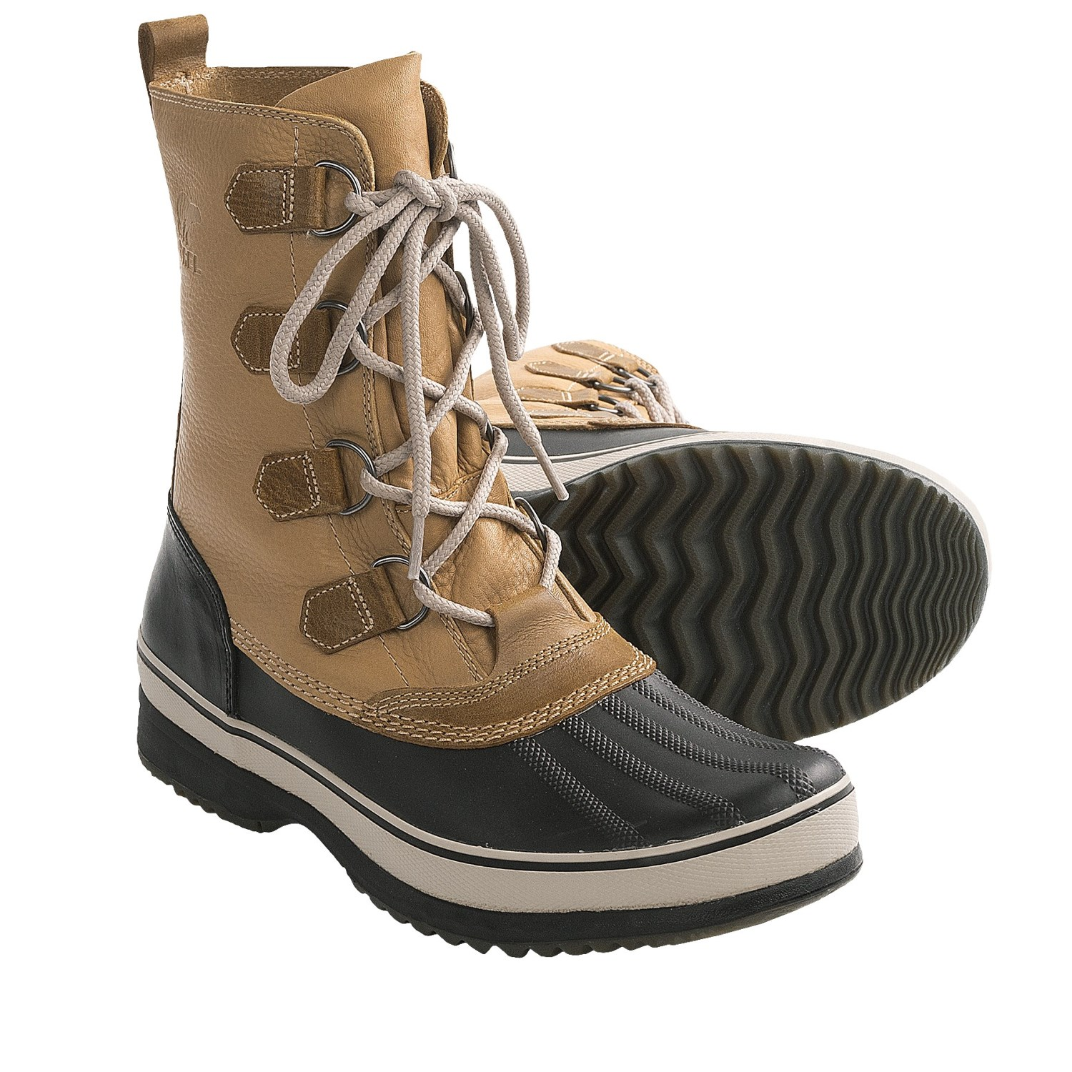 sorel kitchener caribou winter boots waterproof for