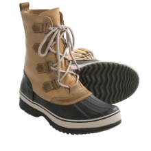 Sorel Kitchener Caribou Winter Boots - Waterproof (For Men) in Curry/Stone - Closeouts