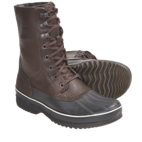 Sorel Kitchner Frost High Waterproof Pac Boots (For Men) in Boulder