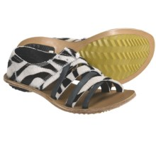 Sorel Lake Shoe Sandals (For Women) in Black/White - Closeouts