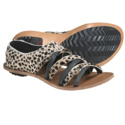 Sorel Lake Shoe Sandals (For Women) in Black/White