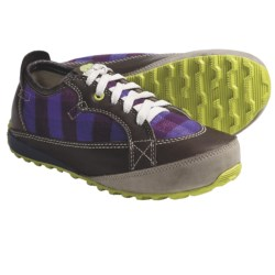 Sorel Mackenzie Holiday Sneakers - Fleece-Lined (For Women) in Bark/Voltage