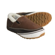 Sorel MacKenzie Slip Shoes - Leather, Slip-Ons (For Women) in Cinnamon/Sesame - Closeouts