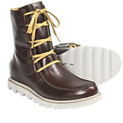 Sorel Mad Boot Lace Boots - Leather (For Men) in Burro