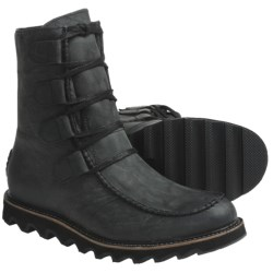 Sorel Mad Boots - Leather, Lace-Ups (For Men) in Black