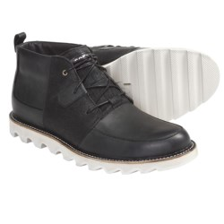 Sorel Mad Desert Shoes - Leather (For Men) in Black