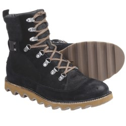 Sorel Mad Mukluk Boots - Suede (For Men) in Black