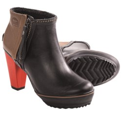Sorel Medina Rain Ankle Boots (For Women) in Black