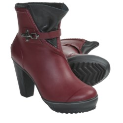Sorel Medina Rain Heel Boots - Waterproof (For Women) in Cabernet