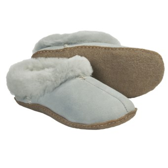 Sorel Nakiska Shearling-Lined Slippers (For Women) in Lux